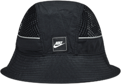 Mesh Bucket Hat Black
