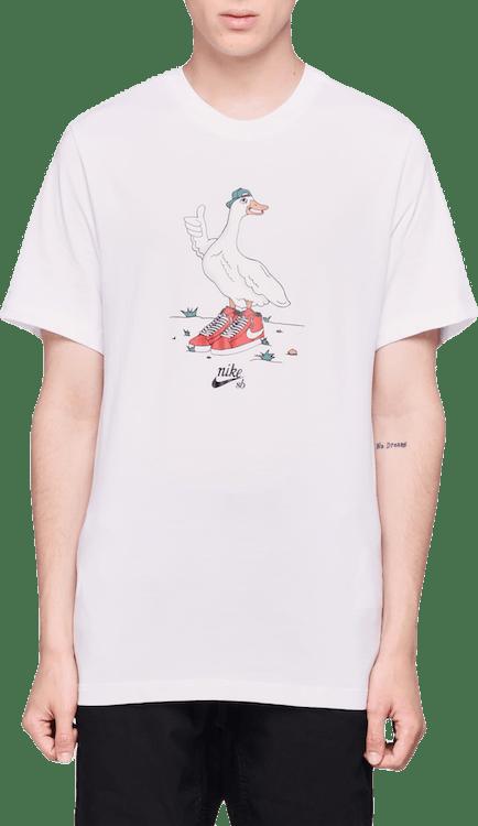 Goose Tee White