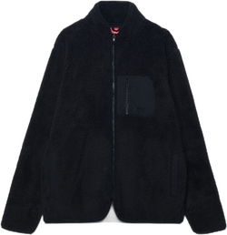 Teddy Fleece Jacket Black