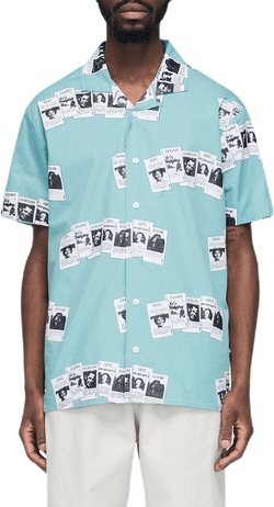 Cards Short Sleeve Shirt Green