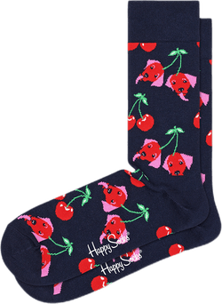 Cherry Dog Sock Multi