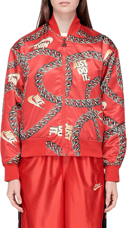 Synthetic-fill Jacket Red