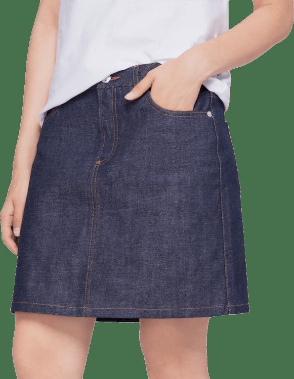 Standard Skirt Blue