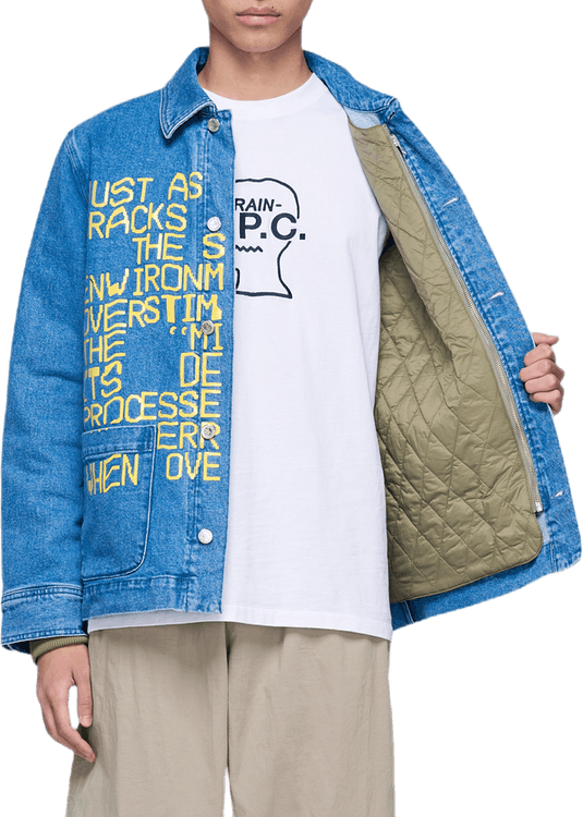 X Braindead Jacket Blue