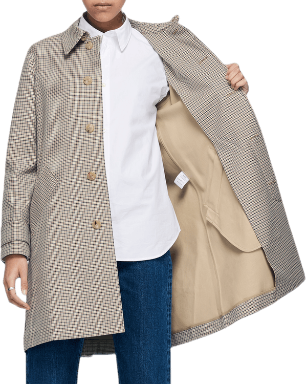 Mac Louisa Coat Khaki