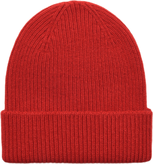 Merino Wool Beanie Red