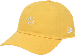 C Patch New Era Dad Hat Yellow