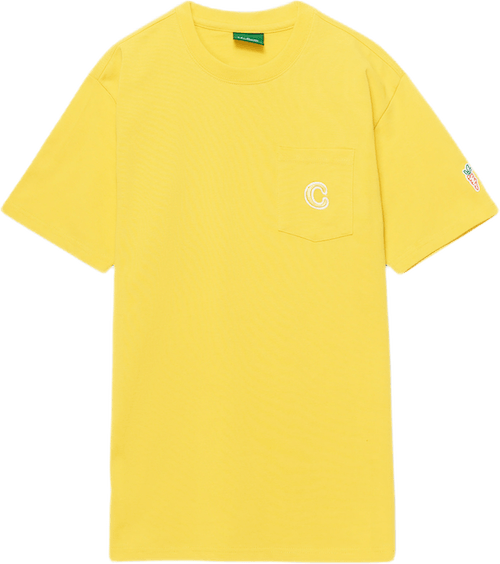 C Patch Pocket T-shirt Yellow