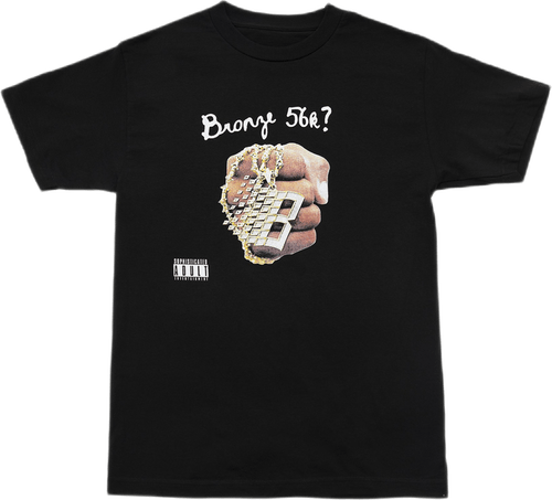 Dj Bronze Tee Black