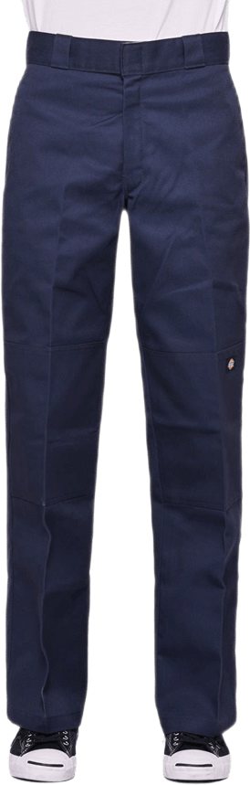 Double Knee Work Pants Blue