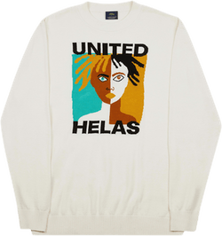 United Knit Crewneck White