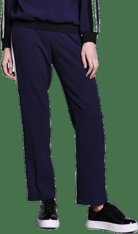 Colorblock Trousers Blue