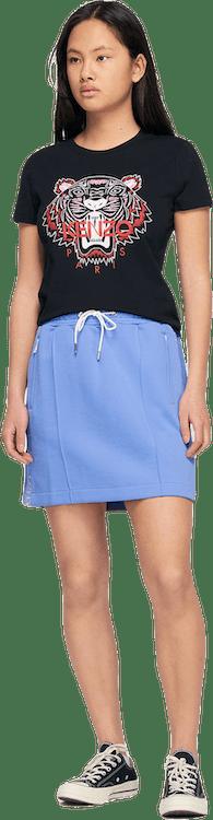 Kenzo Logo Skirt Purple