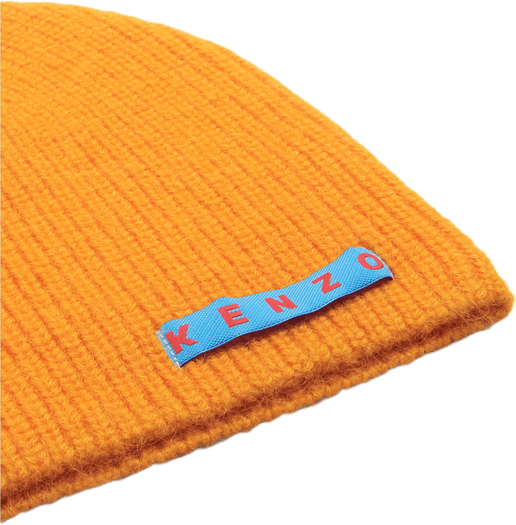 Logo Patch Beanie Orange