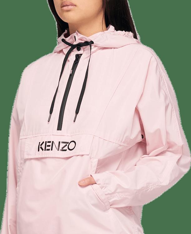Kenzo Logo Windbreaker Pink