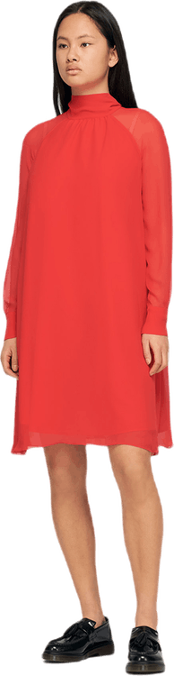 Flowing Dress Red