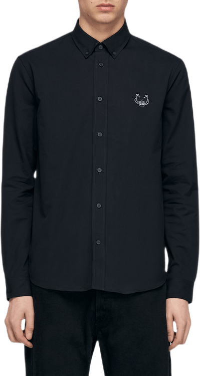 Tiger Casual Shirt Black