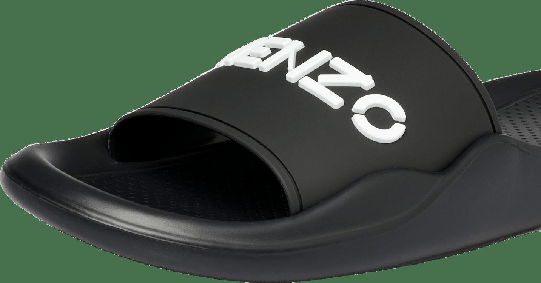 Womens Pool Kenzo Logo Flip Fl Black