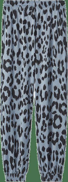Leopard Jogging Trousers Blue