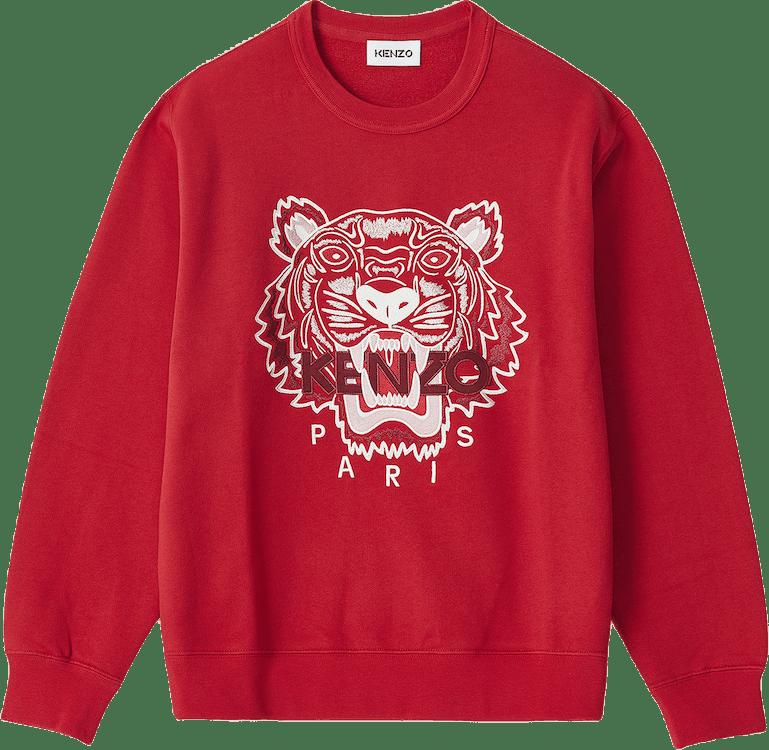 Classic Tiger Crewneck Sweat Red