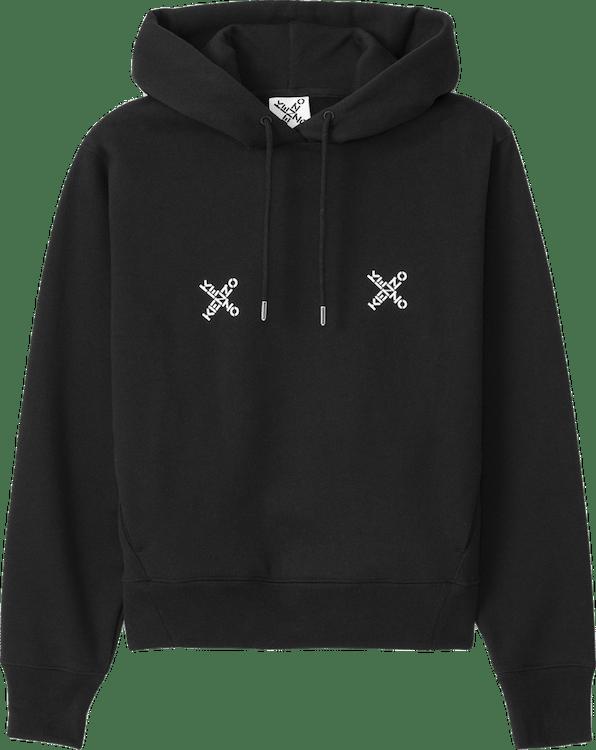 Kenzo Sport Triple X Hoodie Black