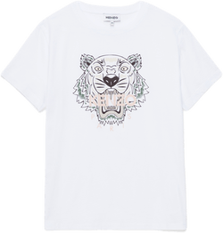 Tiger T-shirt White