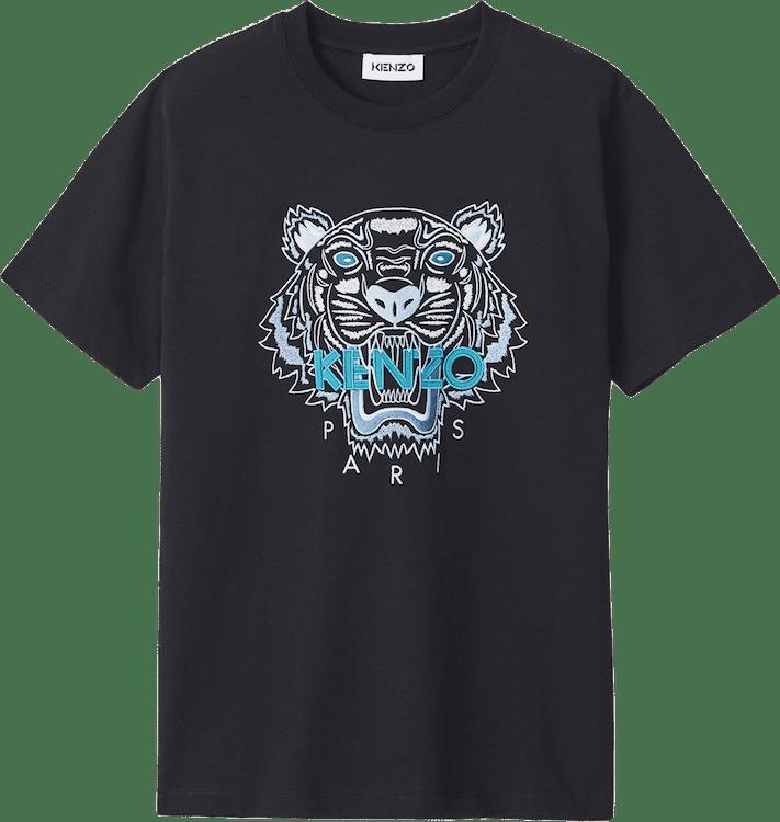 Tiger Loose Fitting T-shirt Black