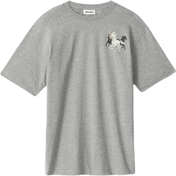 Kenzo Sport Loose Fit T-shirt Gray