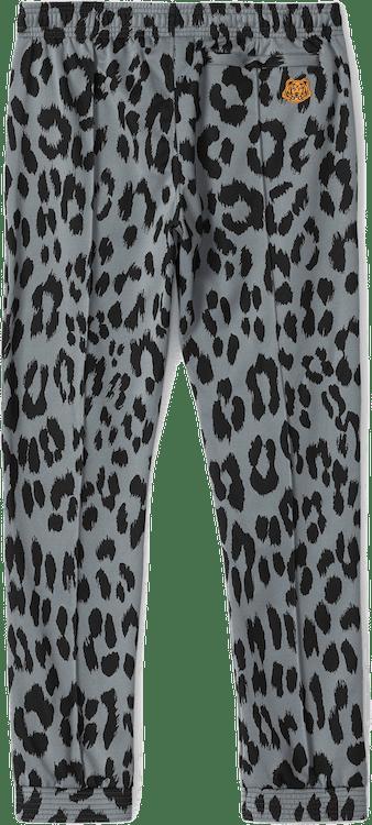 Leopard Jacquard Jogging Trous Blue