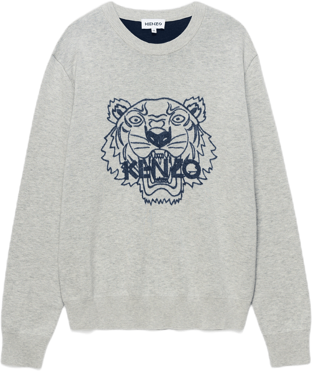 Tiger Jumper Gray