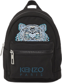 Mini Canvas Kampus Tiger Backp Black