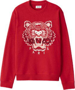 Classic Tiger Crewneck Sweat Red
