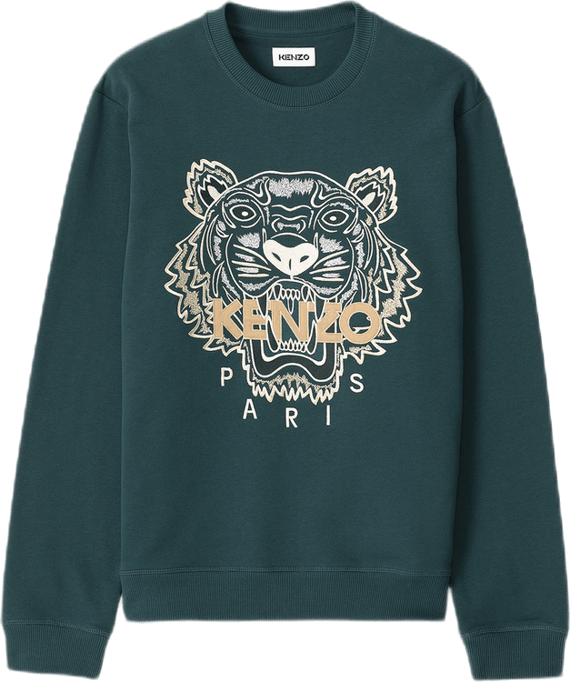 Classic Tiger Crewneck Sweat Blue