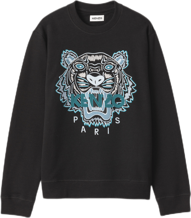 Classic Tiger Crewneck Sweat Black