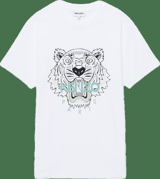 Tiger T-shirt White