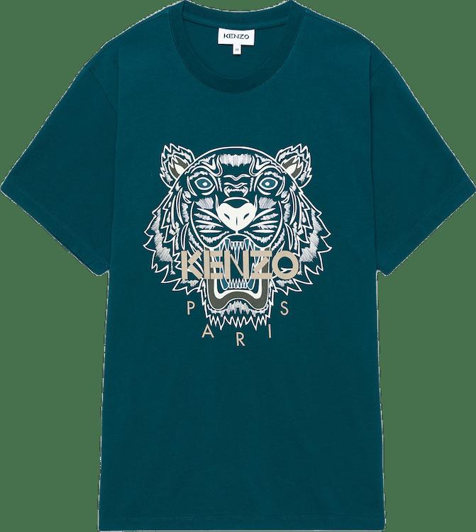 Tiger T-shirt Blue