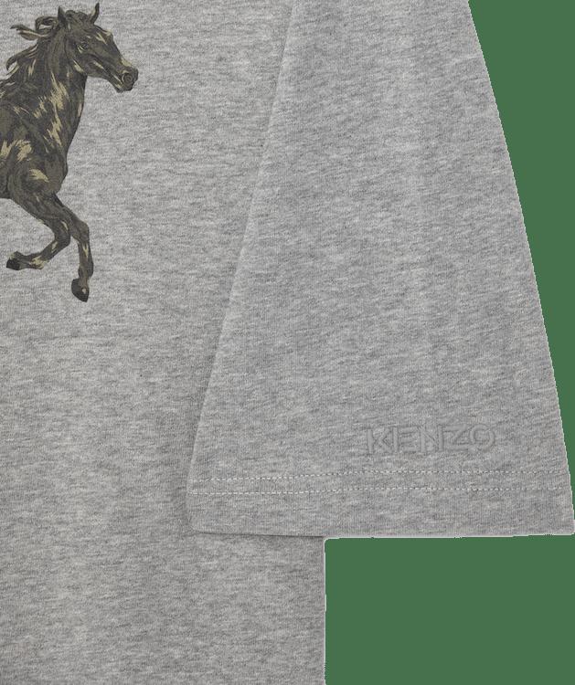 Chevaux Kenzo T-shirt Gray