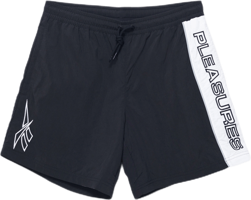 X Pleasures Vector Shorts Black