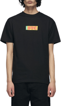 X Ftc Flag Logo Tee Black