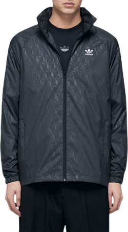 Mono Aop Windbreaker Black