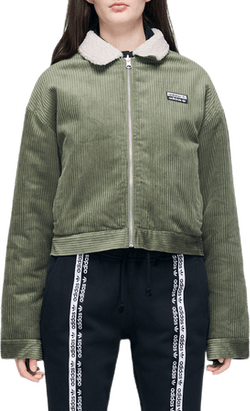 Corduroy Jacket Green