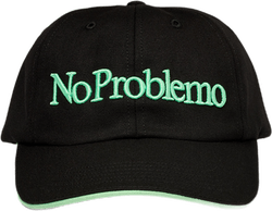 No Problemo Cap Black