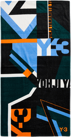Y-3 Aop Towel Multi