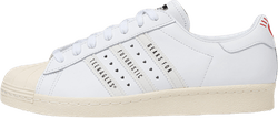 X Human Made Superstar 80s White