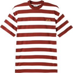 Grove Stripe Tee Brown