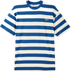 Grove Stripe Tee Blue