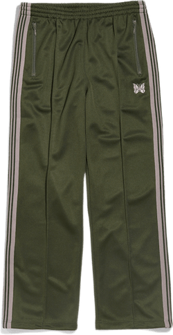 Track Pant Poly Smooth Green