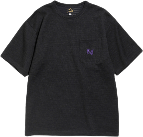 S/s Pocket Tee C/w/n Jersey Black