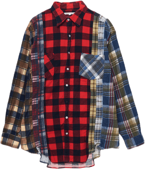 Rebuild By Needles Flannel Shi Multi