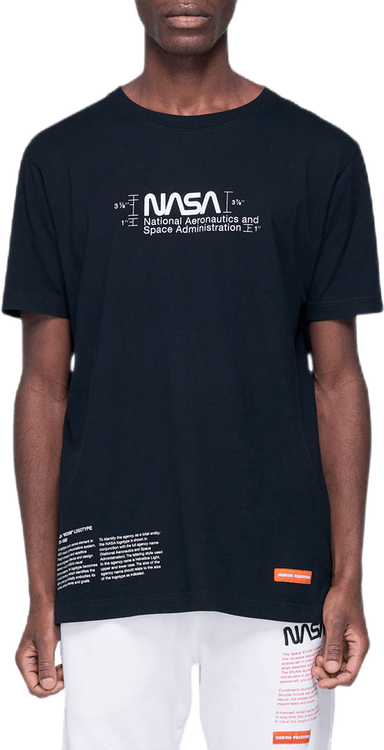 Nasa Regular T-shirt Manual Black